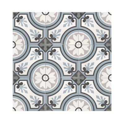 Serie MADLEINE, Esmee Azul Feinsteinzeug 20×20 / 0,8 cm (R9), Preis: 59,00 € / m² *