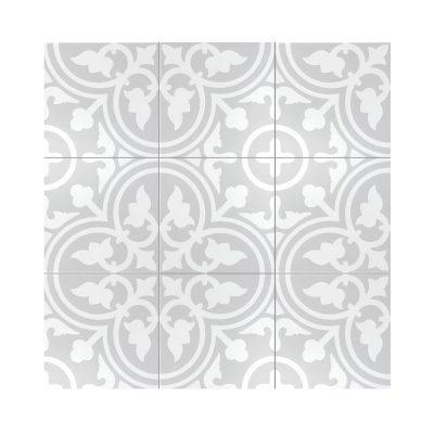 Serie MADLEINE, Flavie Gris Feinsteinzeug 20×20 / 0,8 cm (R9), Preis: 59,00 € / m² *