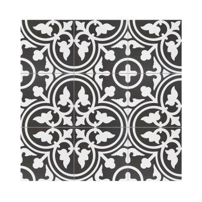 Serie MADLEINE, Flavie Negro Feinsteinzeug 20×20 / 0,8 cm (R9), Preis: 59,00 € / m² *