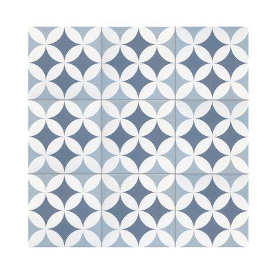 Serie MADLEINE, Gilles Ocean Feinsteinzeug 20×20 / 0,8 cm (R9), Preis: 59,00 € / m² *