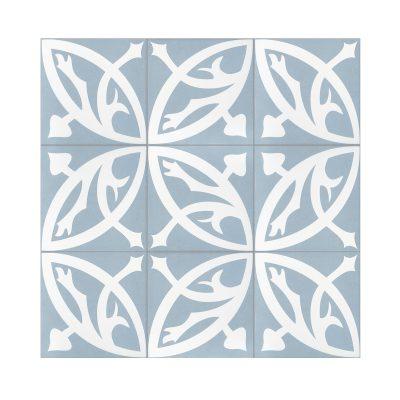 Serie MADLEINE, Zelie Azul Feinsteinzeug 20×20 / 0,8 cm (R9), Preis: 59,00 € / m² *