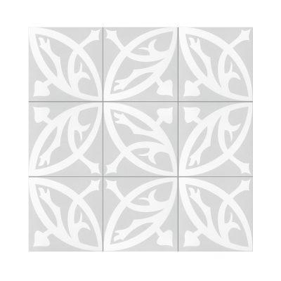 Serie MADLEINE, Zelie Gris Feinsteinzeug 20×20 / 0,8 cm (R9), Preis: 59,00 € / m² *