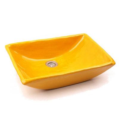 Waschbecken CUNA yellow, Preis: 390,00 € / St. *