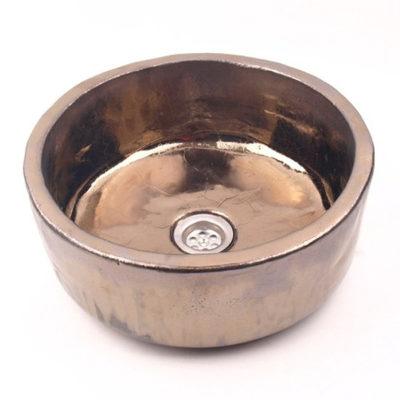Waschbecken PILA oro metallic, Preis: 440,00 € / St. *
