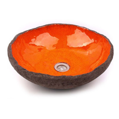 Waschbecken RUSTIC special orange, Preis: 390,00 € / St. *