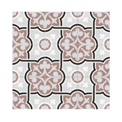 Serie MADLEINE, Flow Marron Feinsteinzeug 20×20 / 0,8 cm (R9), Preis: 59,00 € / m² *
