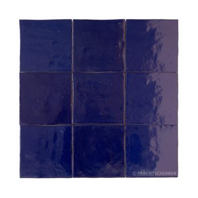 Serie MALAGA, Azul Cobalto (matt) 10×10 / 1,0 cm, Preis: 62,00 € / m² *