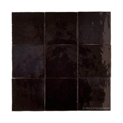 Serie MALAGA, Negro 10×10 / 1,0 cm, Preis: 62,00 € / m² *