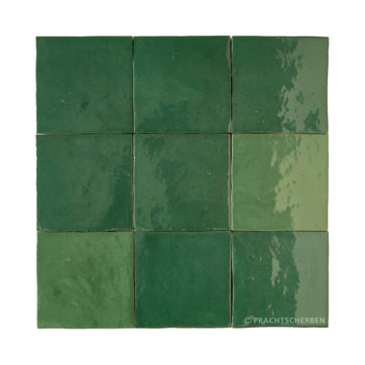 Serie MALAGA, Verde Botella 10×10 / 1,0 cm, Preis: 62,00 € / m² *