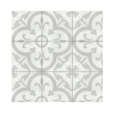 Serie TOLEDO, Carino Gris Feinsteinzeug 20×20 / 0,8 cm (R10), Preis: 45,00 € / m² *