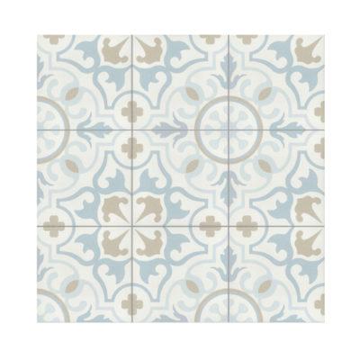 Serie TOLEDO, Favara Azul Feinsteinzeug 20×20 / 0,8 cm (R10), Preis: 45,00 € / m² *
