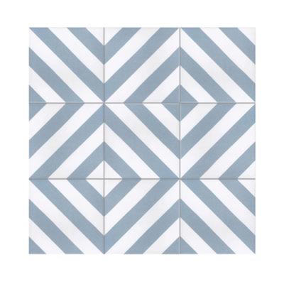 Serie TOLEDO, Rayo Azul Feinsteinzeug 20×20 / 0,8 cm (R9), Preis: 45,00 € / m² *