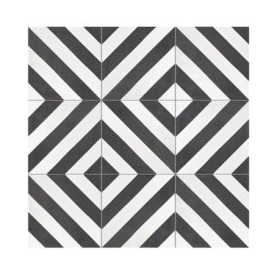 Serie TOLEDO, Rayo Negro Feinsteinzeug 20×20 / 0,8 cm (R9), Preis: 45,00 € / m² *