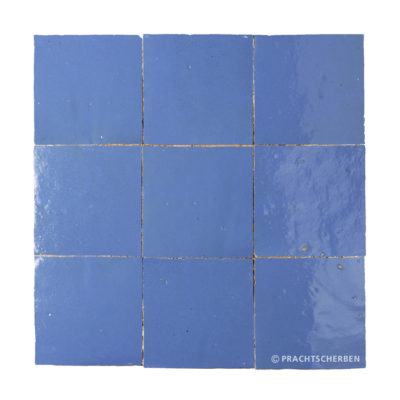 ZELLIGES aus Marokko, glasierte Terracotta, Lavande Nr. 18 , 10×10 / 1,0 cm, Preis: 140,00 € / m² *