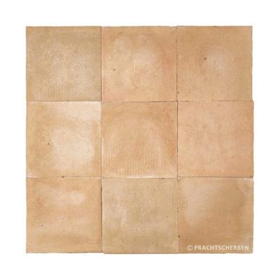 ZELLIGES aus Marokko, unglasierte Terracotta, Natur Nr. 44 , 10×10 / 1,0 cm, Preis: 140,00 € / m² *