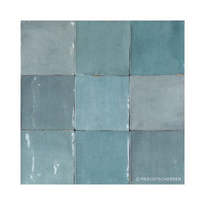 Serie ZAHARA, Aqua, 12,5×12,5 cm Preis: 89,00 € / m² *