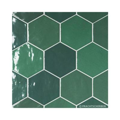 Serie ZAHARA HEX, (dkl. blau), 10,8×12,4 cm Preis: 89,00 € / m² *