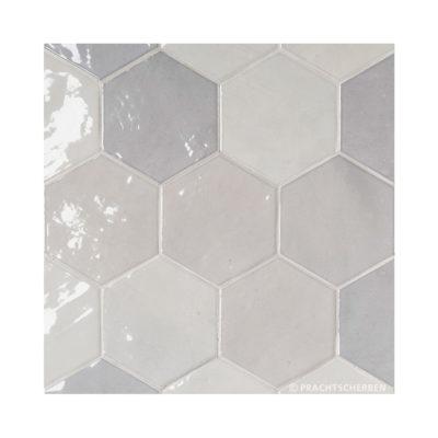 Serie ZAHARA HEX, Grey, 10,8×12,4 cm Preis: 89,00 € / m² *