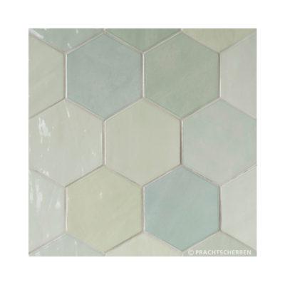 Serie ZAHARA HEX, Mint, 10,8×12,4 cm Preis: 89,00 € / m² *