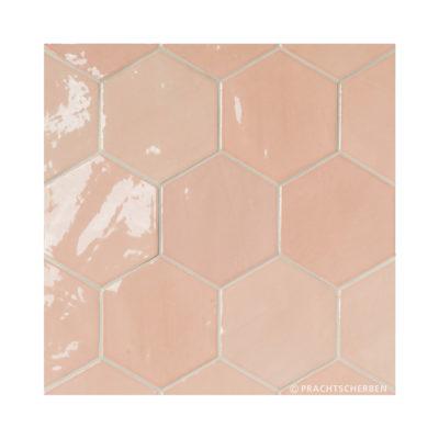Serie ZAHARA HEX, Pink, 10,8×12,4 cm Preis: 89,00 € / m² *