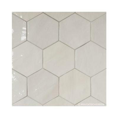 Serie ZAHARA HEX, White, 10,8×12,4 cm Preis: 89,00 € / m² *