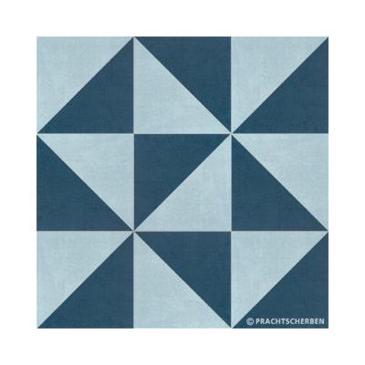 Serie GEO, Diagonal Azul Feinsteinzeug 20×20 / 0,9 cm (R10), Preis: 75,00 € / m² *
