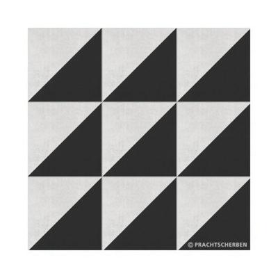 Serie GEO, Diagonal Gris Feinsteinzeug 20×20 / 0,9 cm (R10), Preis: 75,00 € / m² *