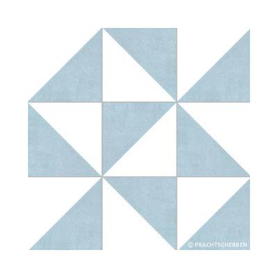 Serie GEO, Diagonal Blanco, Feinsteinzeug 20×20 / 0,9 cm (R10), Preis: 75,00 € / m² *