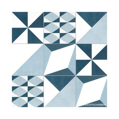Serie GEO, MIX À LA CARTE, Blanco, Feinsteinzeug 20×20 / 0,9 cm (R10), Preis: 82,00 € / m² *