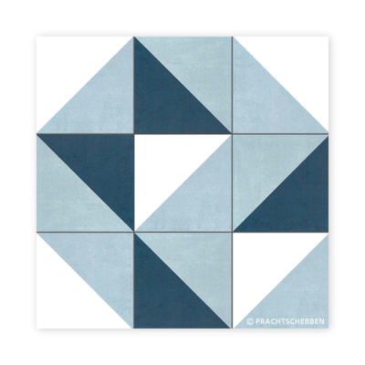 Serie GEO, Diagonal MIX, Feinsteinzeug 20×20 / 0,9 cm (R10), Preis: 75,00 € / m² *