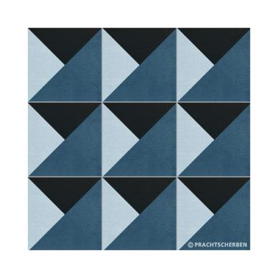 Serie GEO, Torro Azul, Feinsteinzeug 20×20 / 0,9 cm (R10), Preis: 75,00 € / m² *