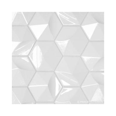 3D-LA OLA, white, 12,4×10,7 cm Preis: auf Anfrage