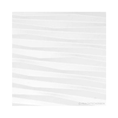 3D-ZIGZAG, blanco mate, 33×99 cm Preis: auf Anfrage