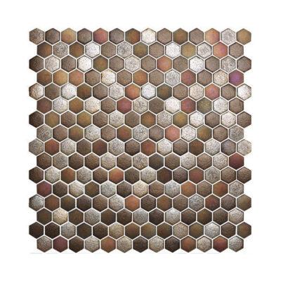 Mosaik MAGMA, Hexagon 2,5 cm Preis: 99,00 € / m²*